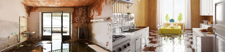 water damage restoration services in Long Island
